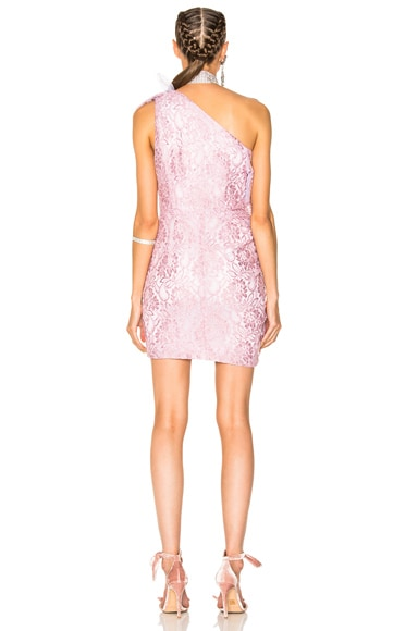 Rebrode Plated Lace Dress
