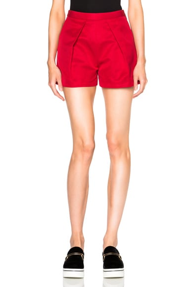 MSGM Shorts in Red