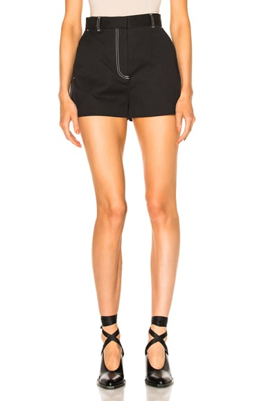 MSGM Short in Black