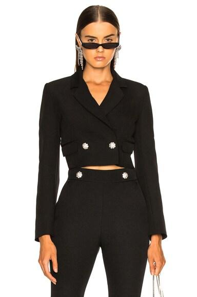 Cropped Cady Jacket
