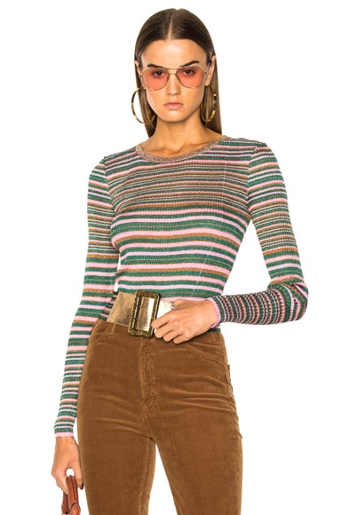 Missoni Metallic Knit Sweater