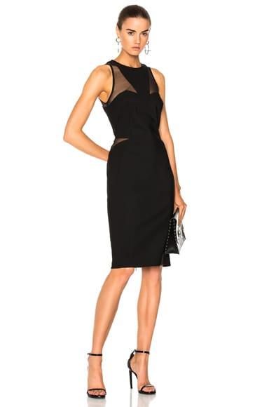 Contour Stretch Midi Dress