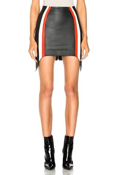 Soft Nappa Leather Skirt