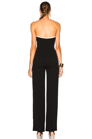 Technical Cady Bicolor Jumpsuit