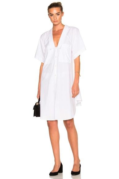 Marissa Webb Elena Tunic Dress in White