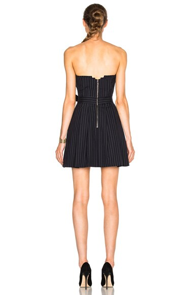 Mae Pinstripe Dress