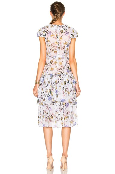 Lana Print Dress