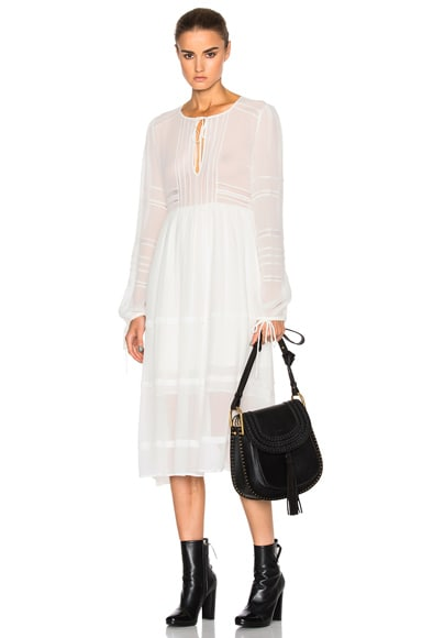Marissa Webb Bella Silk Dress in White
