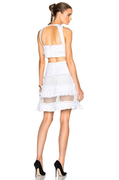Marissa Webb Quentin Dress in White