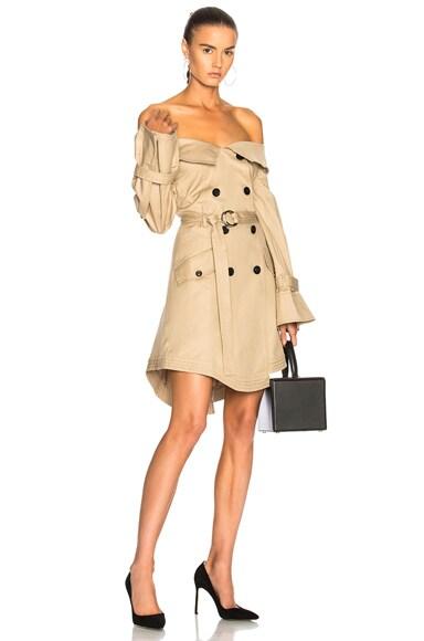 Ellen Trench Dress