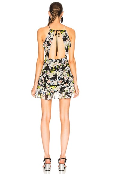 Andrea Silk Print Dress