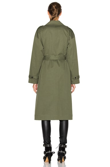 Corey Canvas Overcoat