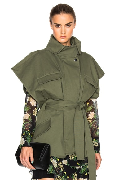 Marissa Webb Jayden Jacket in Military Green