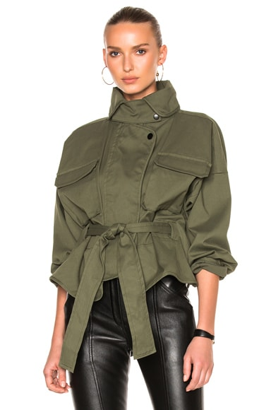 Marissa Webb Kayla Anorak in Military Green