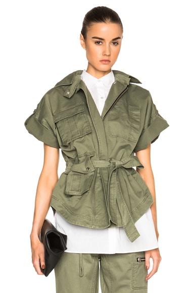 Marissa Webb Arthur Jacket in Military Green