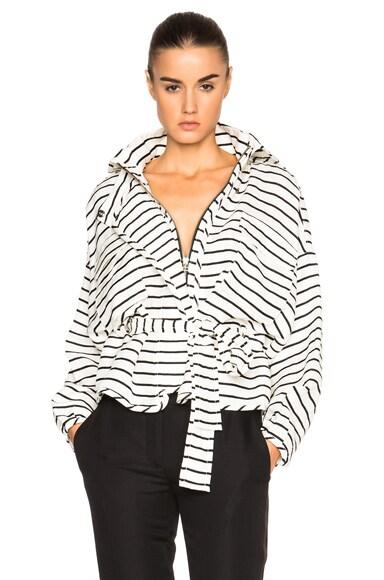 Marissa Webb Kayla Jacket in White Stripe