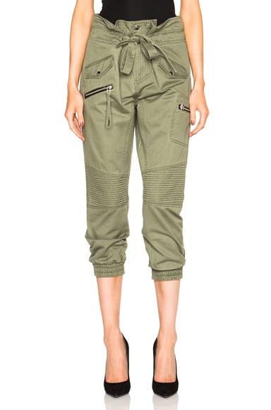 Marissa Webb Kenzi Pants in Military Green