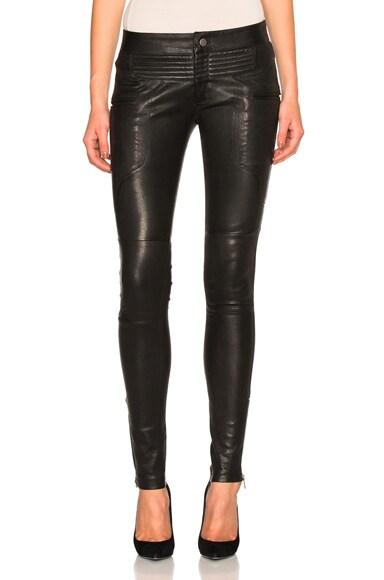 Marissa Webb New Binta Moto Pants in Black