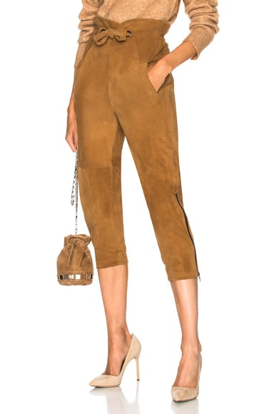 Maxwell Suede Pant