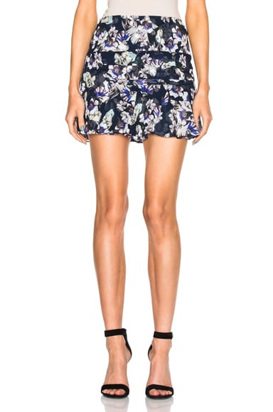 Marissa Webb Pamela Skirt in Lilia Navy