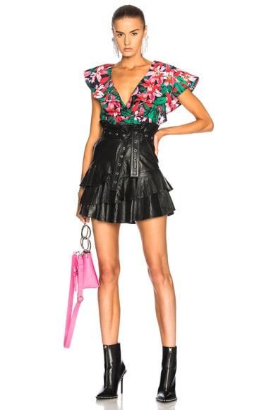 Leather Lena Skirt