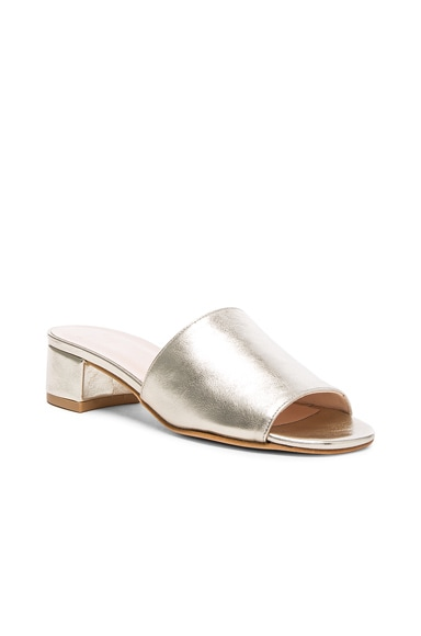 Leather Sophie Slides