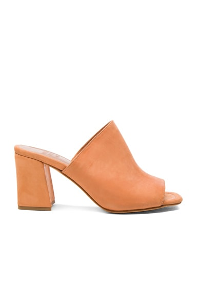 Maryam Nassir Zadeh Leather Penelope Mules in Natural Calf