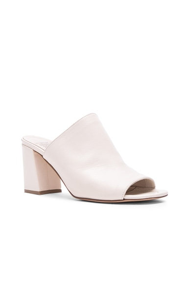 Penelope Leather Mules