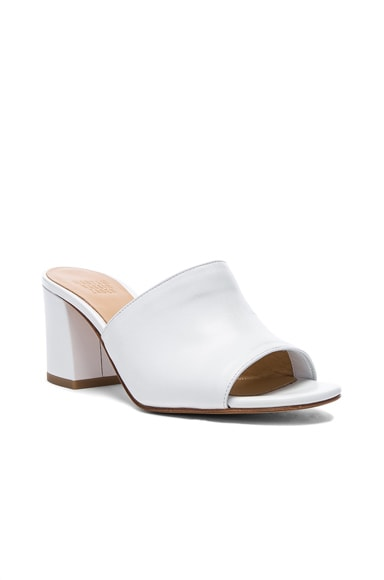 Leather Mar Mules