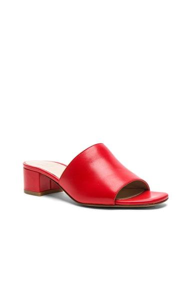 Leather Sophie Slides