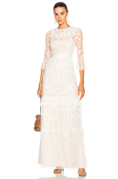 Shadow Lace Gown