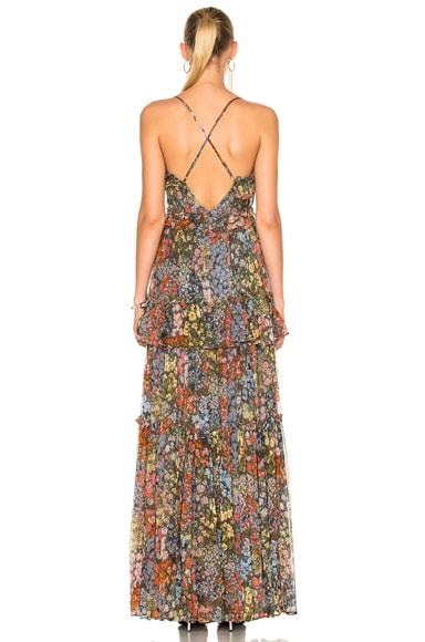 Flowerbed Maxi Dress