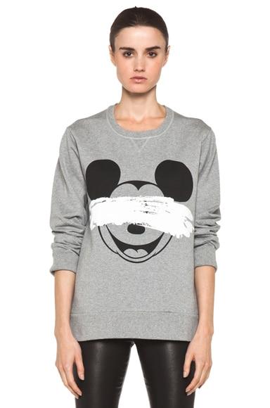 Mickey Print Sweatshirt