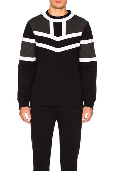 Tri Color Sweatshirt