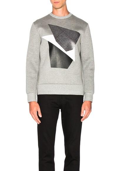Modernist Blocking Sweatshirt