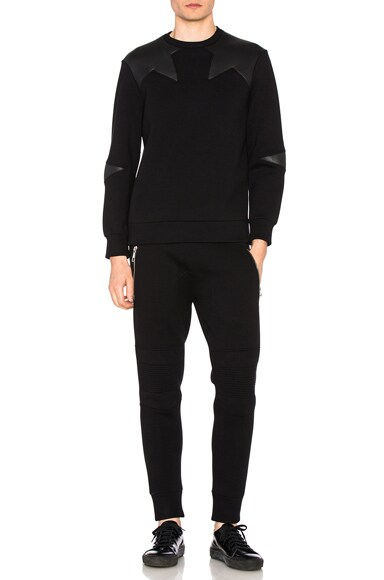 Irregular Star Sweatshirt