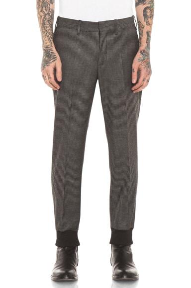 Skinny Pant with Rib Cuff