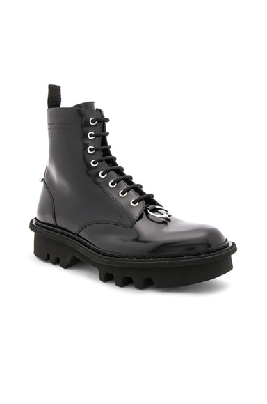 Leather Piercing Boots