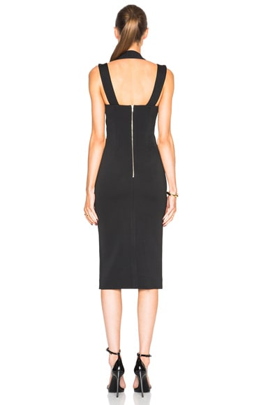 Bandage Crossband Halter Dress