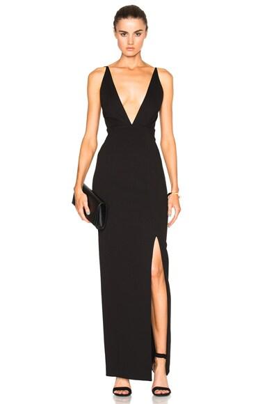 NICHOLAS Ponti Dress in Black