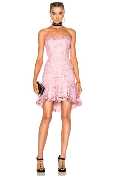 Bellflower Strapless Mini Dress