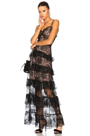 Rosie Lace Tiered Gown