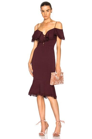 Bandage Off Shoulder Dress