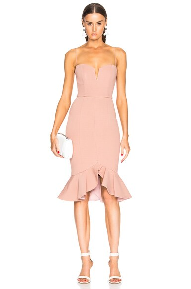 Flip Hem Bra Bandage Dress