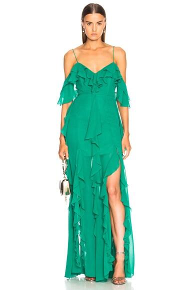 for FWRD Cascade Frill Dress