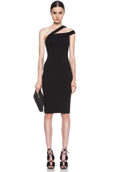 Ponti Off The Shoulder Viscose-Blend Dress
