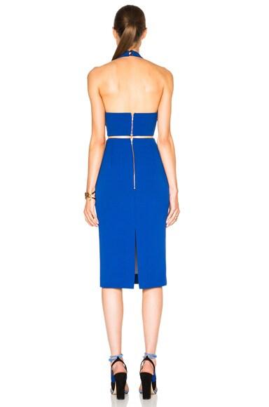 Plunge Halter Dress