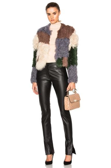 Mixed Fur Jacket