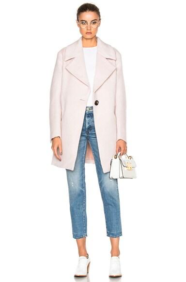 NICHOLAS Oversized Coat in Blush