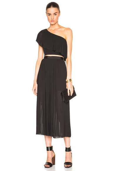 Pleat Culotte Pants